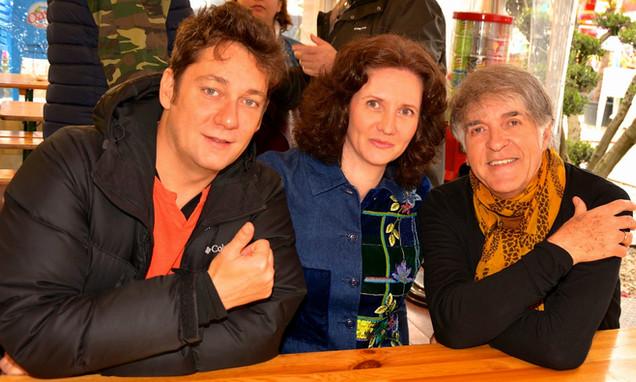 Florence Bouvrot, Grégoire Colard & David Bacci - Photo : Yannick Bernes