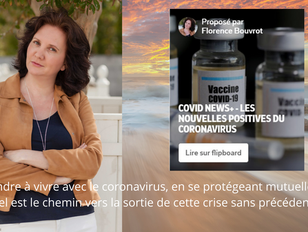 Mononews met à l'honneur Covid News+ de Florence Bouvrot
