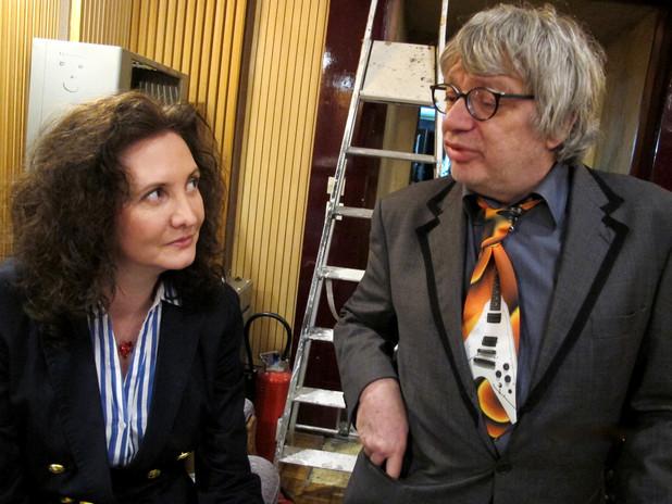 Florence Bouvrot & Ramon Pipin - Photo : Marion Ranval-Zizine