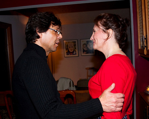 Florence Bouvrot & Kasim Sulton - Indianapolis, USA