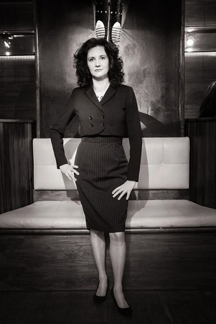 Florence Bouvrot - Portrait Noir et Blanc par Jean-José Caddy