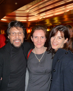 Florence Bouvrot & Kasim Sulton - Londres