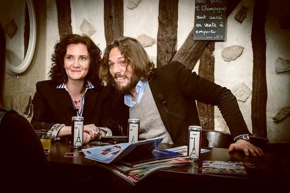 Florence Bouvrot & Thierry-Paul Valette - Sur la Pellicule - Photo : Jean-José Caddy