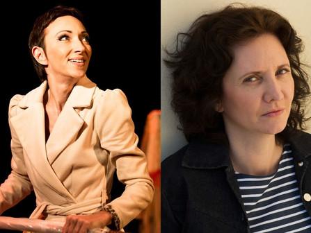 Florence Bouvrot reçoit Isabelle Layer dans Cour des Artistes