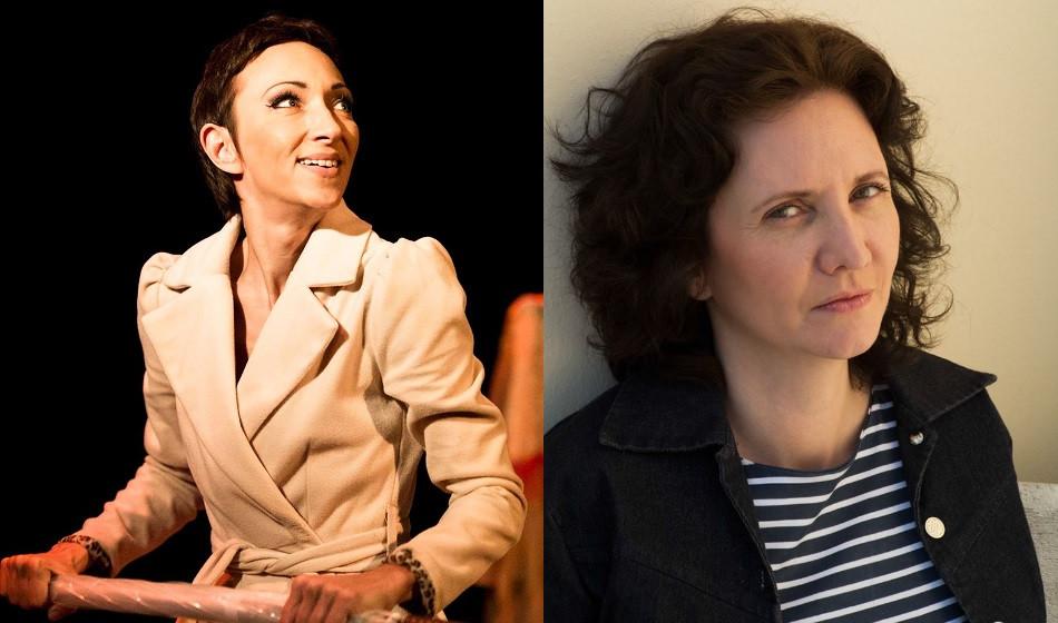 Florence Bouvrot et Isabelle Layer dans Cour des Artistes