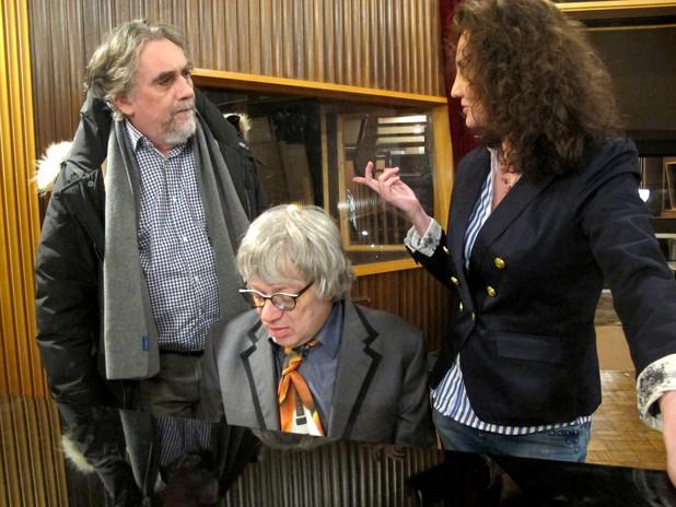 Florence Bouvrot, Francis Kuntz alias Kafka de Groland & Ramon Pipin - Photo : Marion Ranval-Zizine