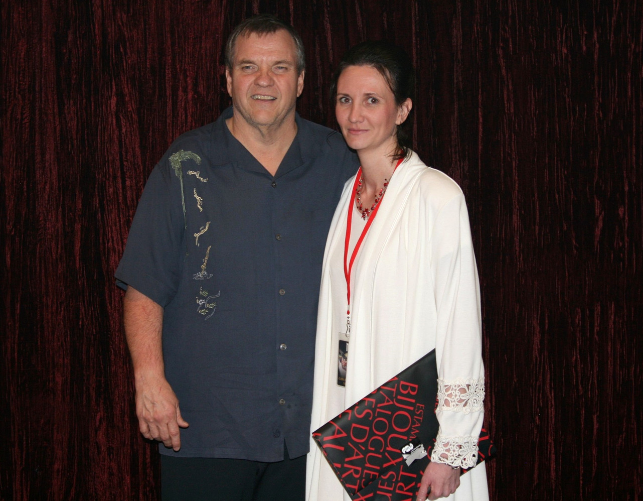 Florence Bouvrot & Meat Loaf - Asbury Park, New Jersey