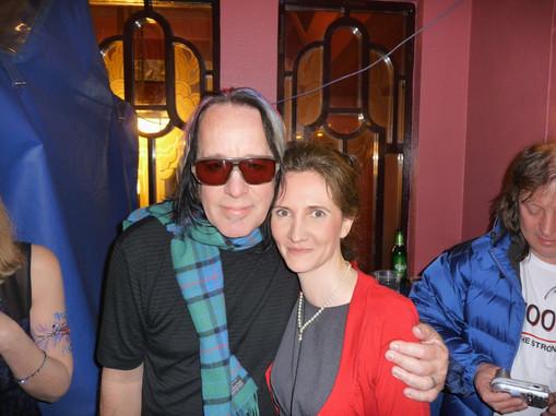 Florence Bouvrot & Todd Rundgren - Londres