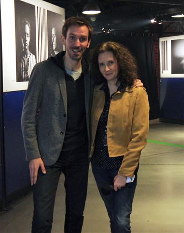 Florence Bouvrot & Emmanuel Lanièce - Triwap - Zénith de Paris - Photo : Joel Menuel