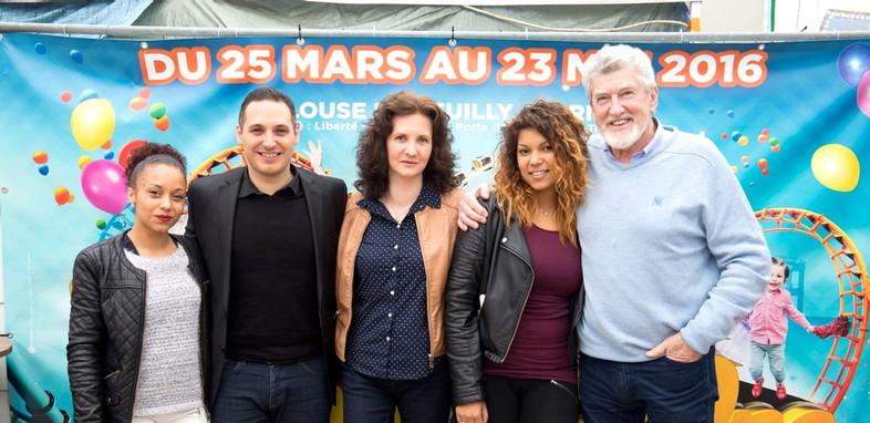 Florence Bouvrot, Patrick Préjean & Emmanuel Fricero - Sur la Pellicule - Photo : Jean-José Caddy
