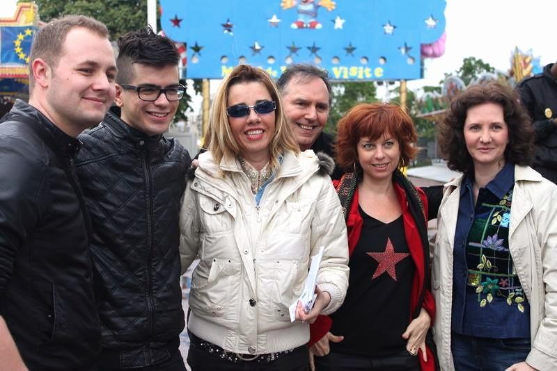 Chris Gabriel, Alban de Jong, Sylvie Malys, Florence Bouvrot - Photo : Jean-Luc Drion