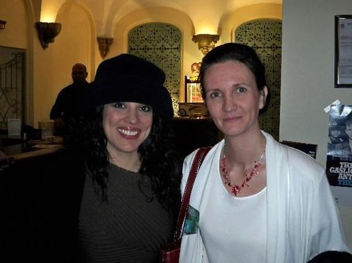 Florence Bouvrot & Patti Russo - Asbury Park, New Jersey