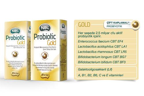 NBL Probiotic GOLD 20 Saşe