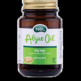NBL Algae Oil - Alg Yağı 30 Kapsülv