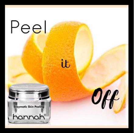 Peel it of :  Enzymatic Skin Peelin g