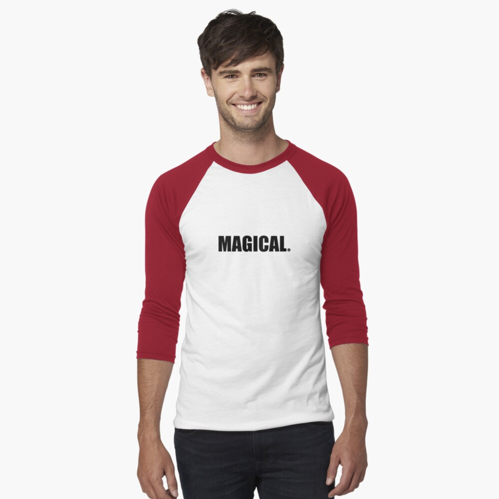 Magical Baseball ¾ Sleeve T-Shirt