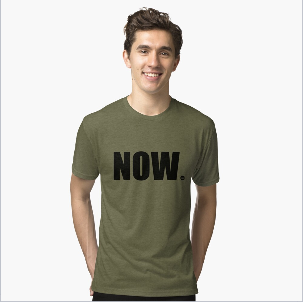 Now Tri-blend T-Shirt