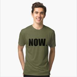 Now Tri-blend T-Shirt