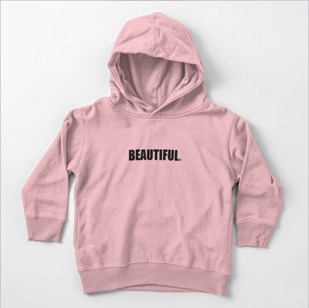 Beautiful Toddler Pullover Hoodie
