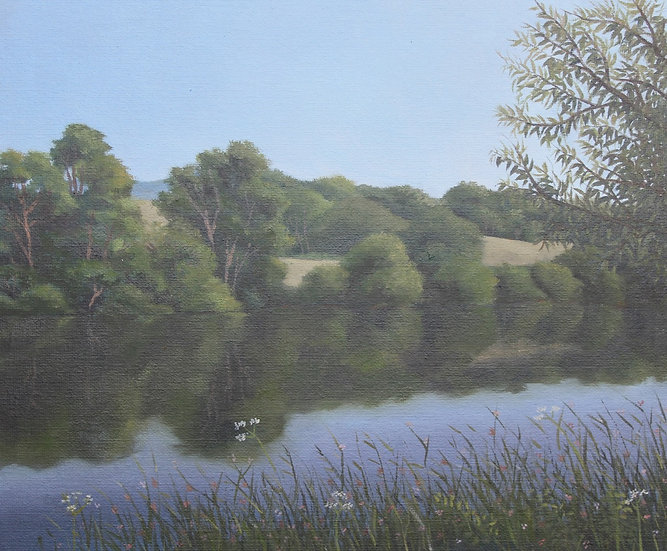 Lake on the High Weald