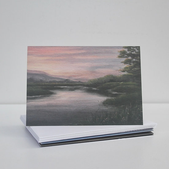 'Sunsets and Coastlines' Greeting Cards x5
