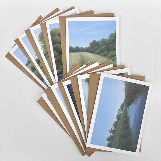 The 'High Weald Landscape Collection' Greeting Cards x10