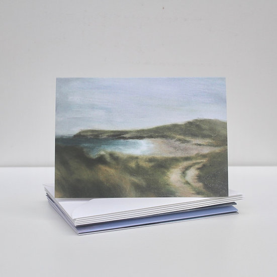 'Coastal Works' Greeting Cards x5