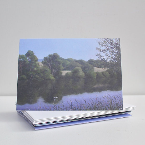 'Kent Scenes' Greeting Cards x5