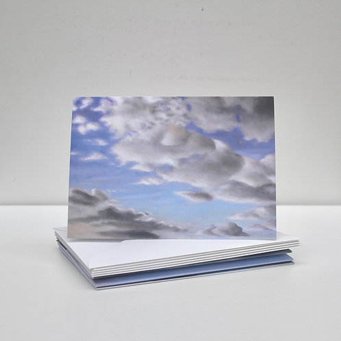 'Cloud Painting' Greeting Cards x5