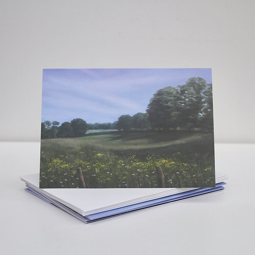 'Understanding This New Warmth' Greeting Cards x5