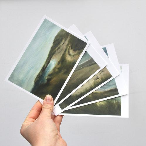 'Coastal Works' Postcards x5