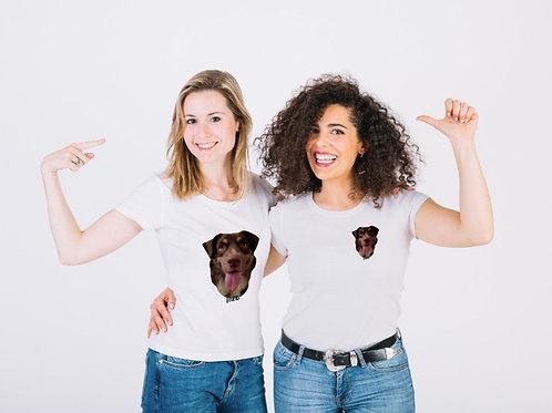 T-shirt met je huisdier