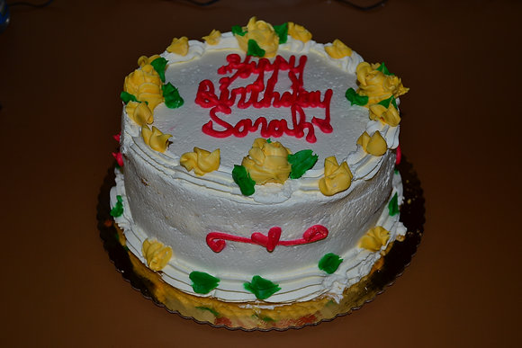 Birthday Cake All Whip Cream