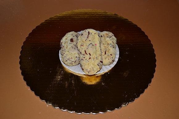Sliced Almond Cookies