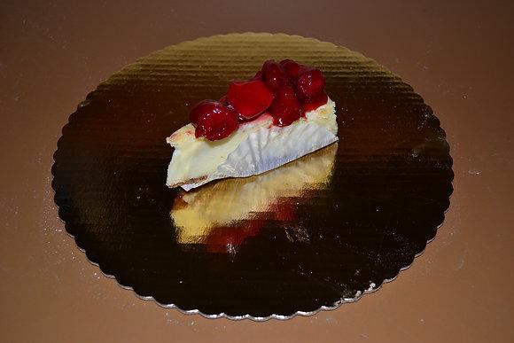 New York Cheese Cake w/Strawberries