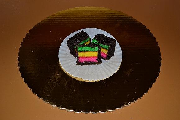 Rainbow Neopolitan Cookies