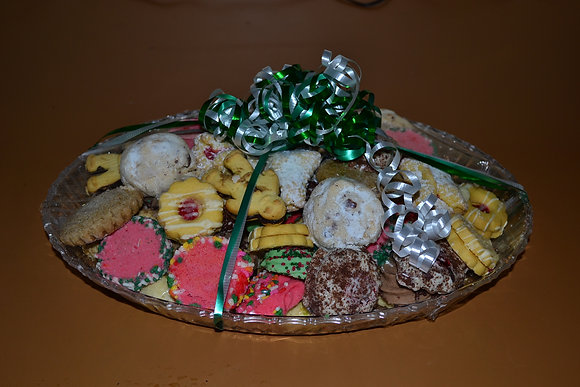 Cookie Gift Tray 2.5lbs Assorted