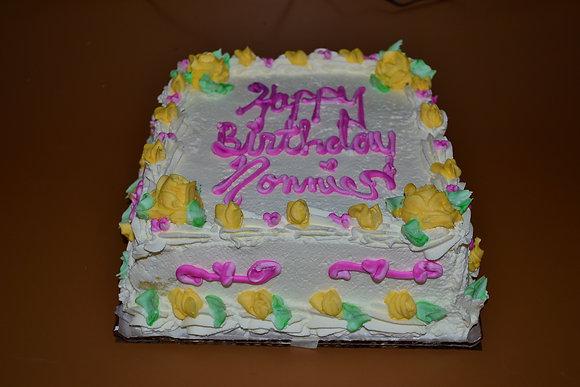 Paragine Square Cake