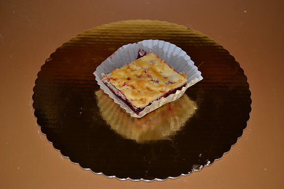 Raspberry Filled Squares