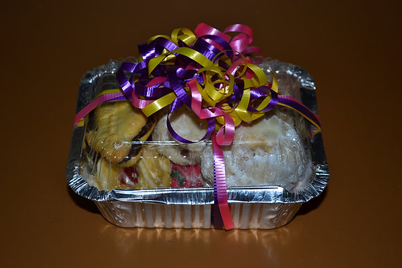 Assorted Italian Cookies 1/2LB tray