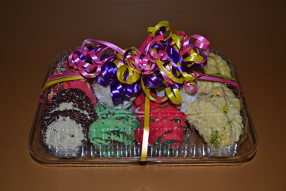 Cookie Gift Tray 1.0lbs Assorted
