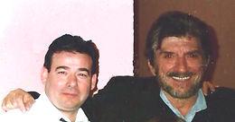 Carmine Marcovecchio e Gigi Proietti