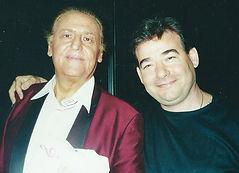 Carmine Marcovecchio e Renzo Arbore