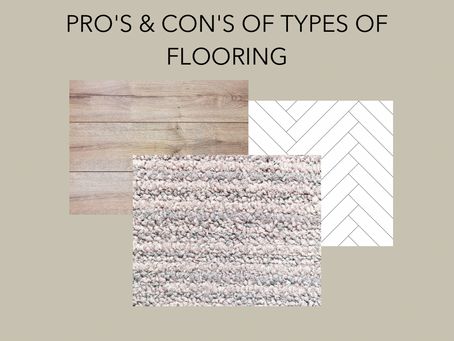 Types of Flooring - Pros & Cons