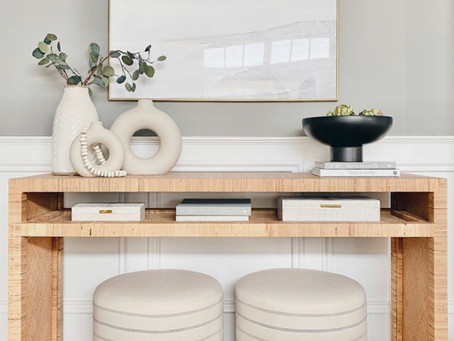 Styling a Console Table - Top Tips