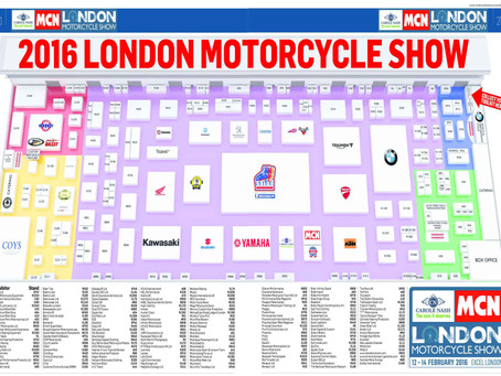 The Carole Nash MCN London Motorcycle Show 12-14 February