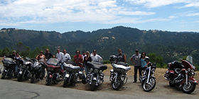 Transport for motorcycle group holidays to UK & Europe