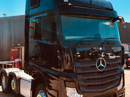 Another Mercedes Actros Joins Our Expanding Fleet