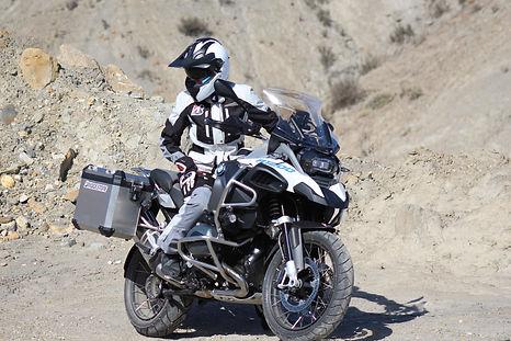 BMW Adventure Bike On Set