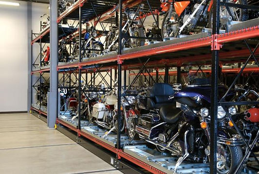 Motorcycle storage solution in the UK